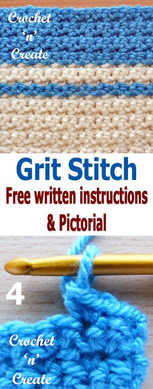 grit stitch pin