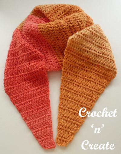 easy beginners scarf