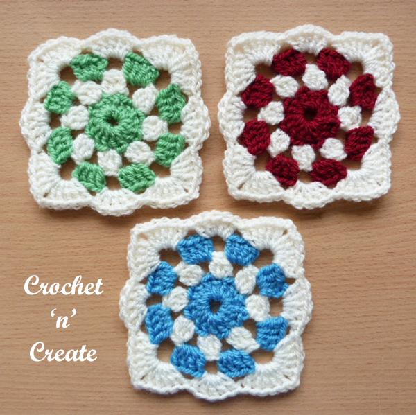 crochet project square