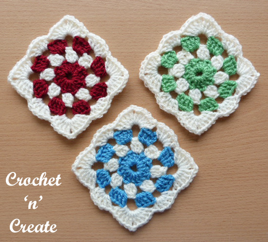 crochet project square