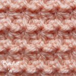 crochet trinity stitch