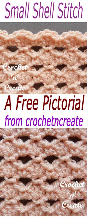 small shell stitch