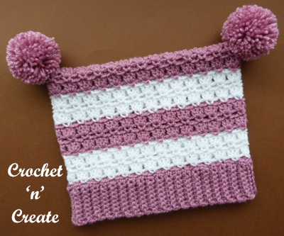 square hat pink