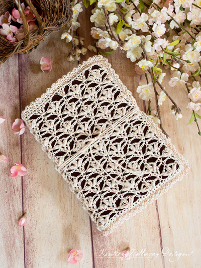 free crochet bible cover pattern