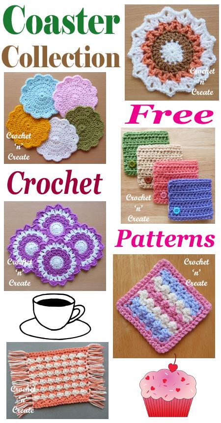 crochet coaster collection