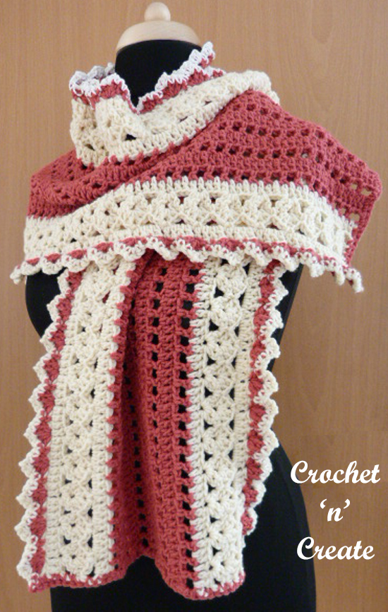 evening wrap free crochet pattern