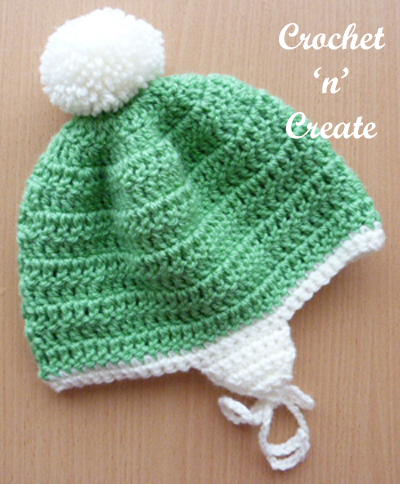 Crochet Boys Puff Stitch Helmet