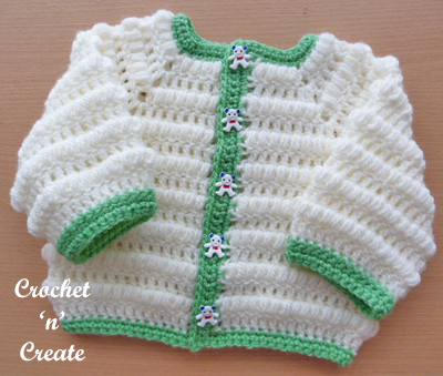 Crochet Baby Boys Jacket Pattern