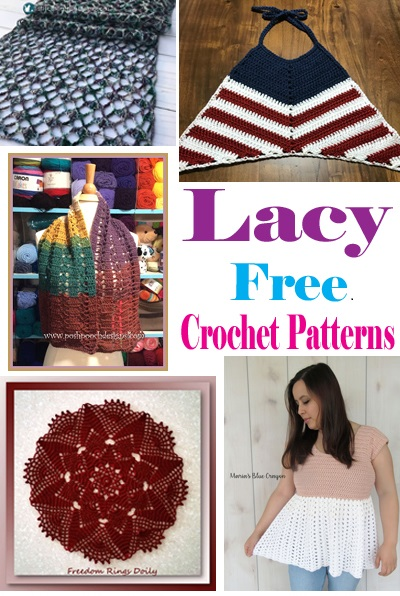 free lacy crochet patterns