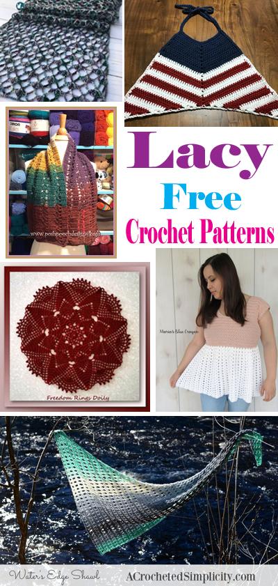 lacy crochet roundup