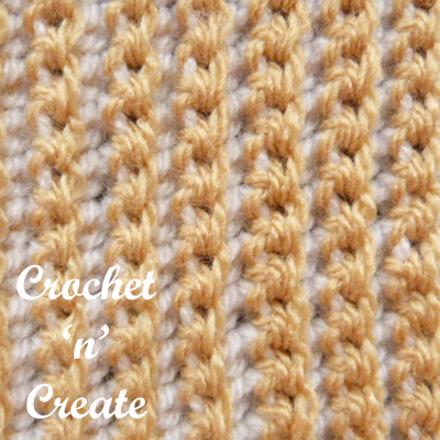 sc rib stitch long