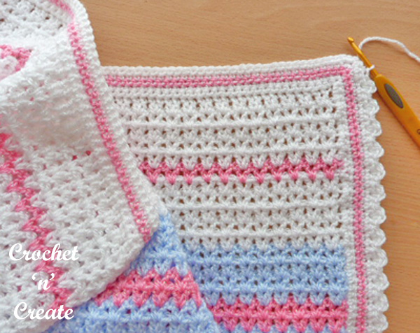 Free Butterfly baby blanket Pattern UK