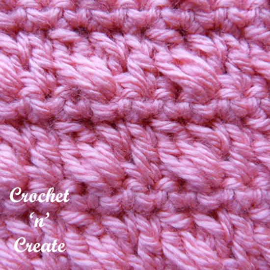 crossed clusters pink