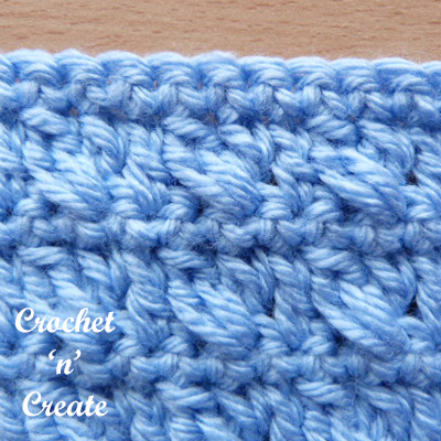 crossed cluster stitch