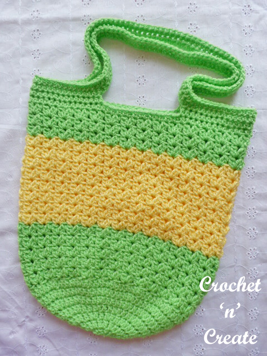 green-yellow bag
