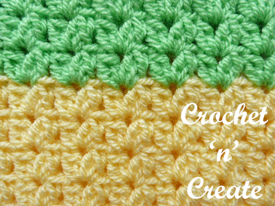 Crochet grocery tote bag stitch