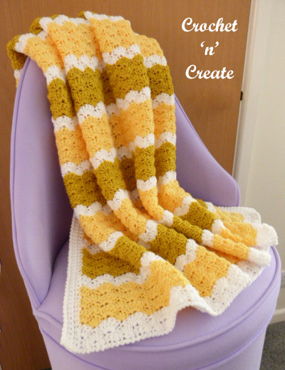 crochet lapghan blanket