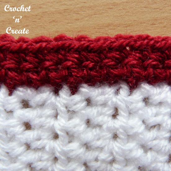 crochet neat edge