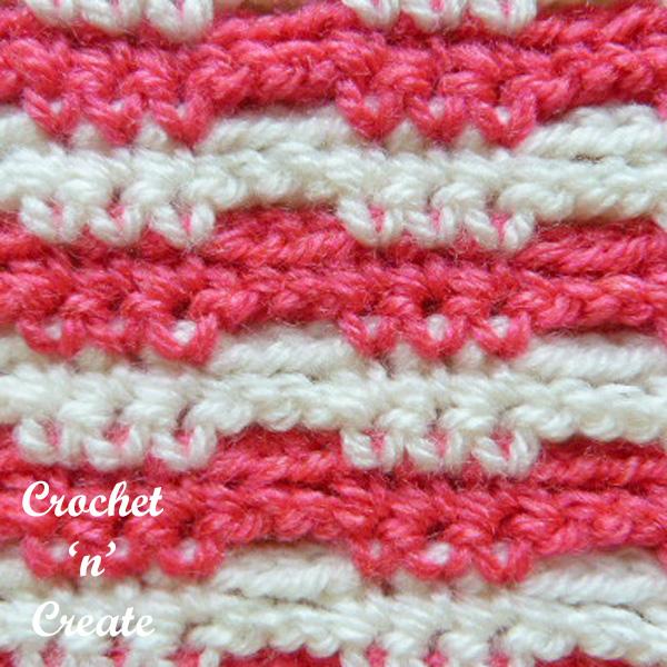 crochet network ribbon
