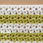 Crochet Offset V Stitch