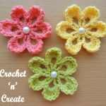 small flower applique