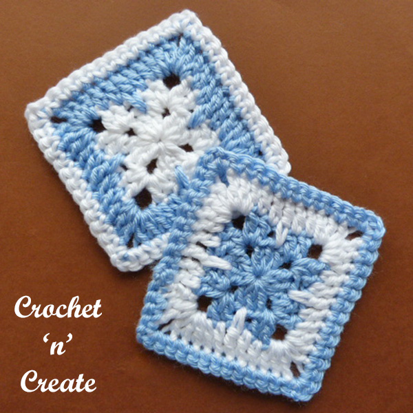 blanket square free crochet pattern