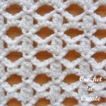 cluster and lace stitch tutorial