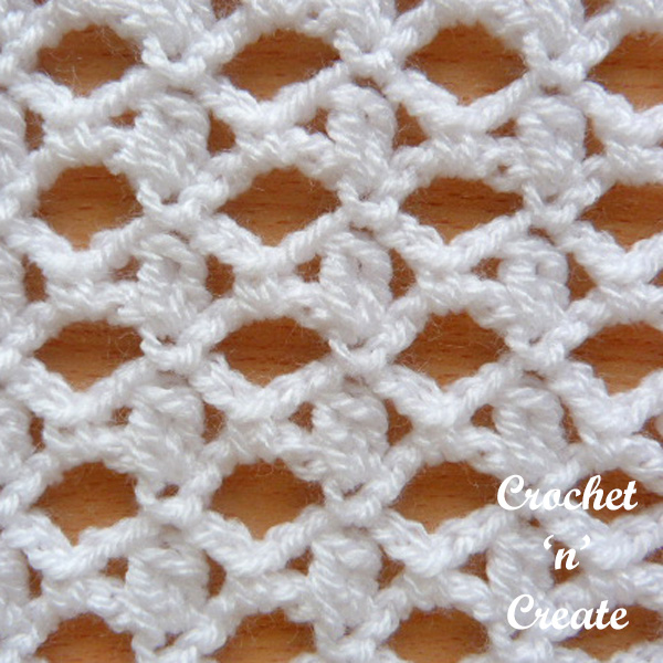 Cluster And Lace Stitch Tutorial Crochet N Create