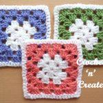 crochet granny-square