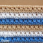 Free crochet tutorial-cross stitch
