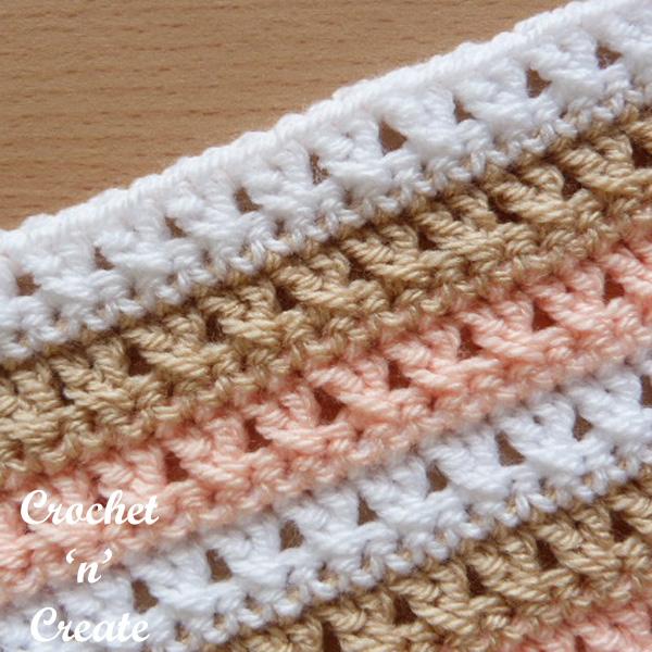 Crochet cross stitch tutorial