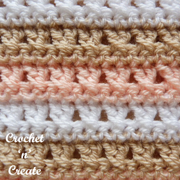 cross stitch crochet tutorial