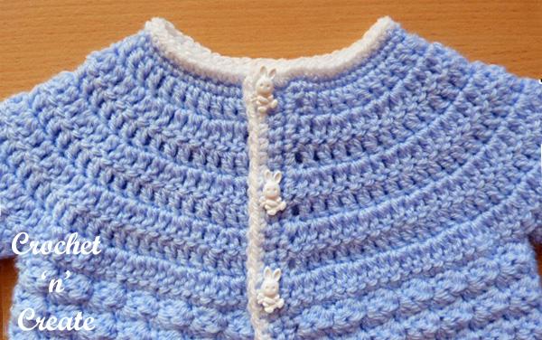 Free baby tommys yoke crochet pattern