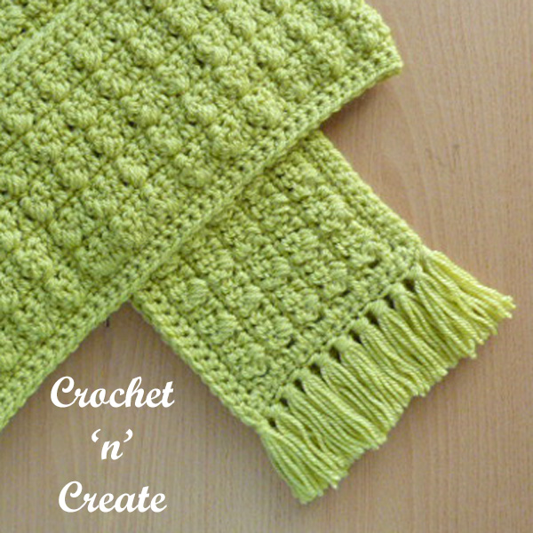 winter warmer free crochet scarf uk pattern