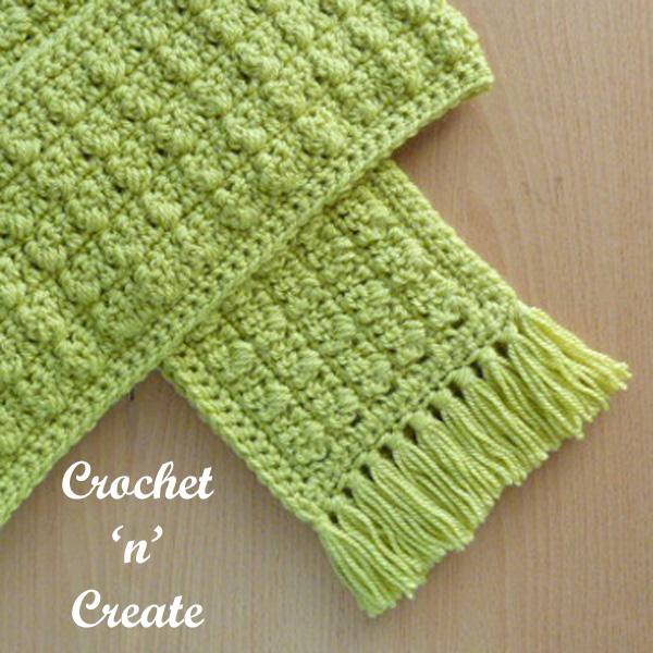 winter warmer free crochet scarf uk pattern