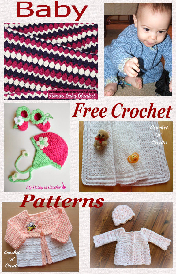 Free crochet pattern roundup-oh baby