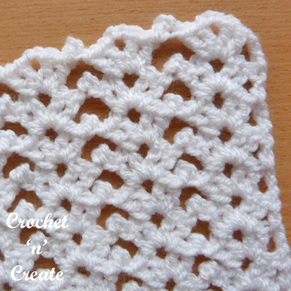 chirpy picots free crochet stitch tutorial
