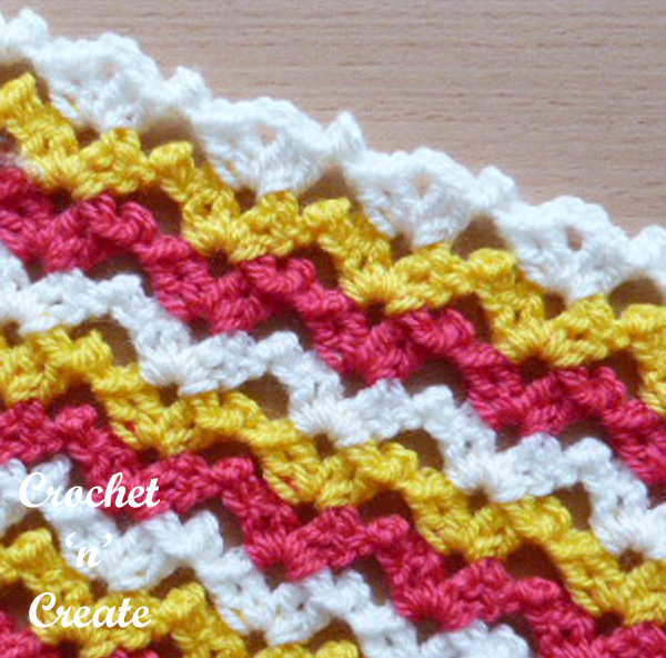 crochet tutorial chirpy picots free