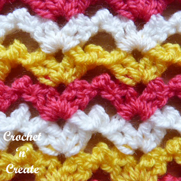 Free chirpy picots crochet tutorial