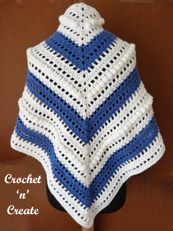 Free juliette shawl crochet pattern