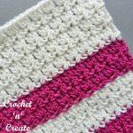 Free crochet stitch-primrose stitch