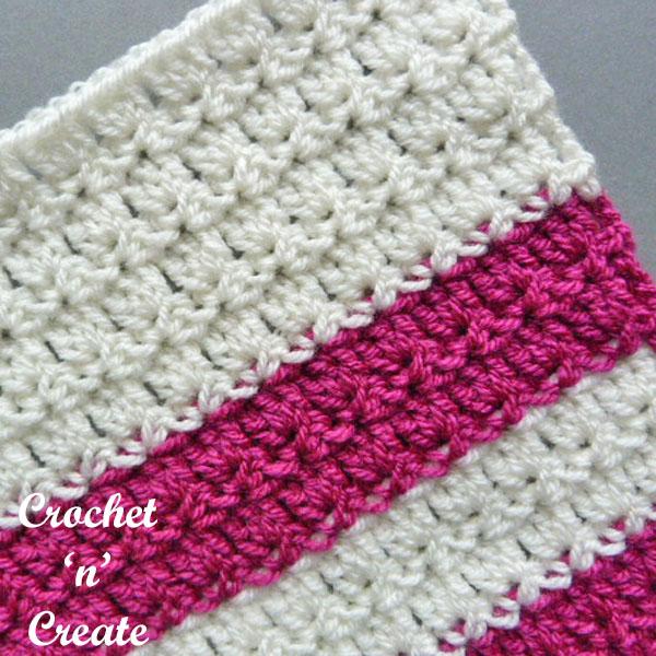 free crochet stitch tutorial-primrose stitch