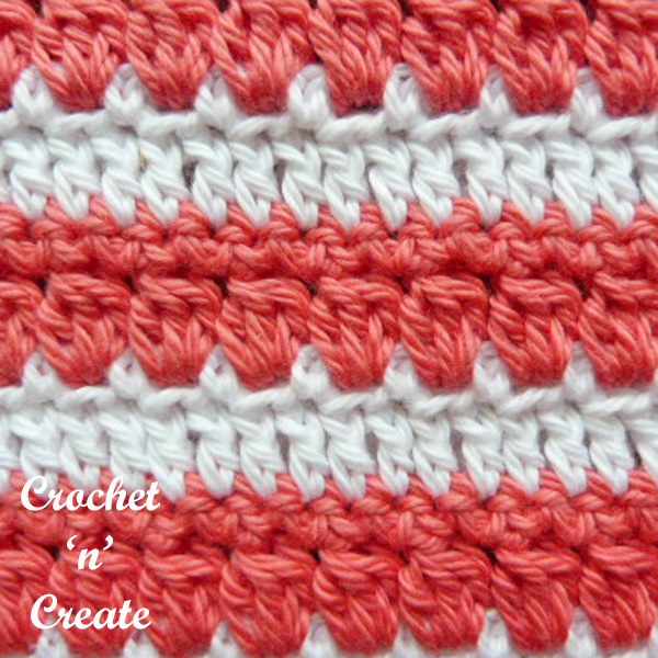 square hot pad free crochet pattern