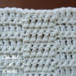 Free crochet wave stitch tutorial