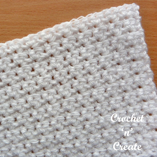 Free crochet alternate sc tutorial