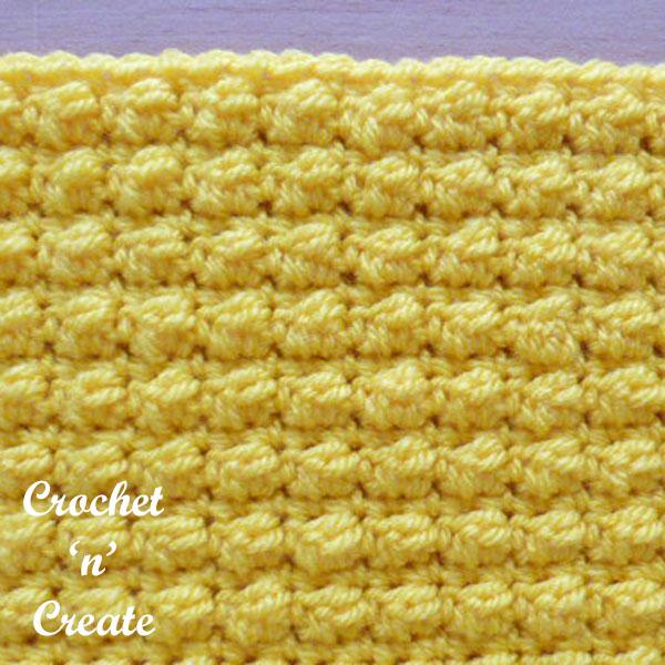 Even berry stitch crochet stitch tutorial
