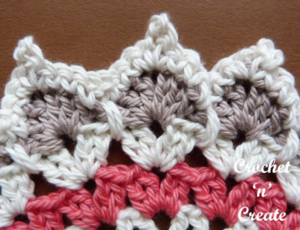 pointed doily free crochet pattern