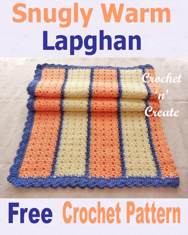 Free crochet pattern snugly warm lapghan