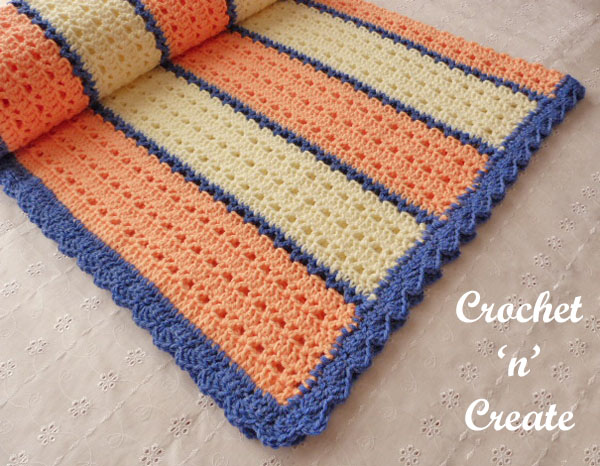 Free crochet pattern snugly warm lapghan uk