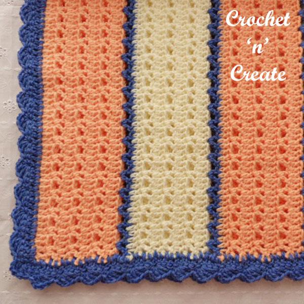 Snugly warm lapghan free crochet pattern uk